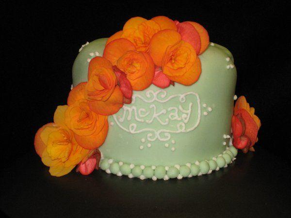 Tmx 1222196326589 Orangeflowerssmall Atascadero wedding cake