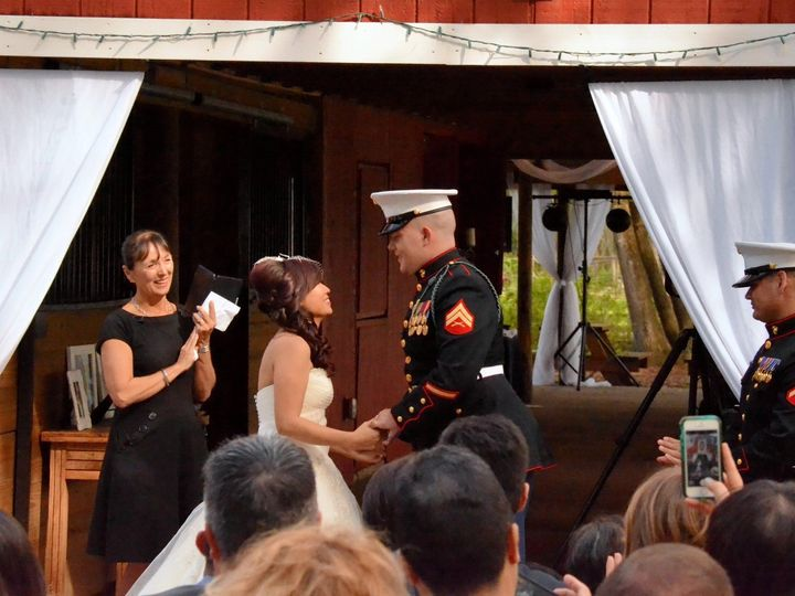 Tmx 1462673371539 Marine Corp Wedding Old Mcmickie Farm 2 Clearwater, Florida wedding officiant