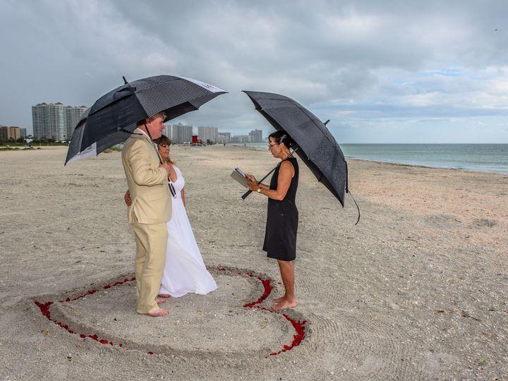 Tmx 1527799149 5271581b30f60322 1527799147 4f12f7982e5eb6ef 1527799141083 1 Rain Clearwater, Florida wedding officiant