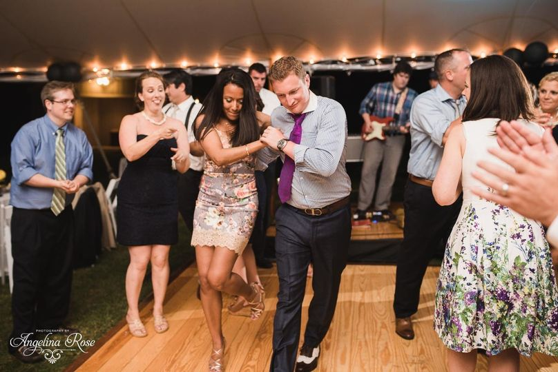 Couples dance off