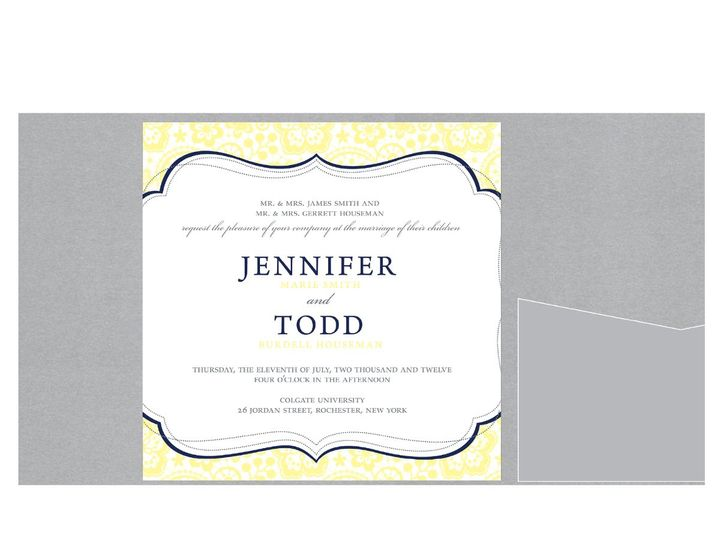 Tmx 1363881089757 Kaseyajohnson52 Rochester wedding invitation