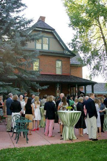 Wedding Reception at the Wheeler/Stallard Museum.