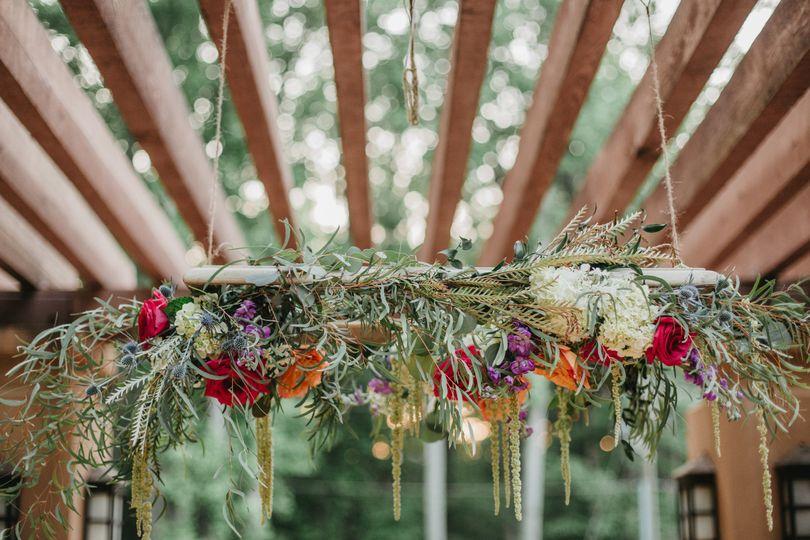 Indoor flower decoration