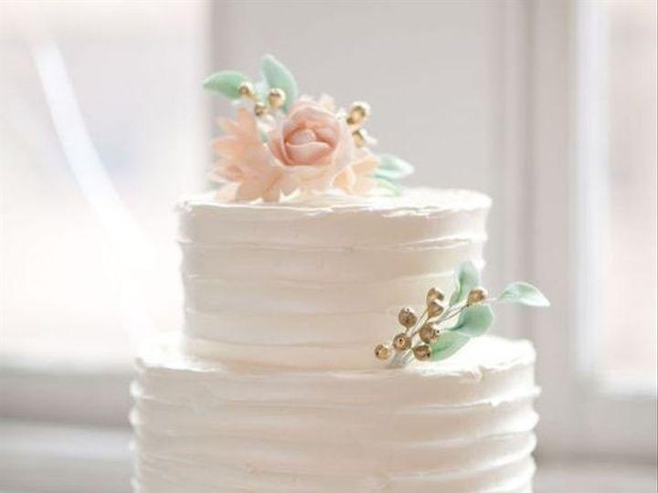Tmx 2 Tier White Romantic Horizontal Swirls 51 760804 159346549866922 Saint Petersburg, FL wedding cake