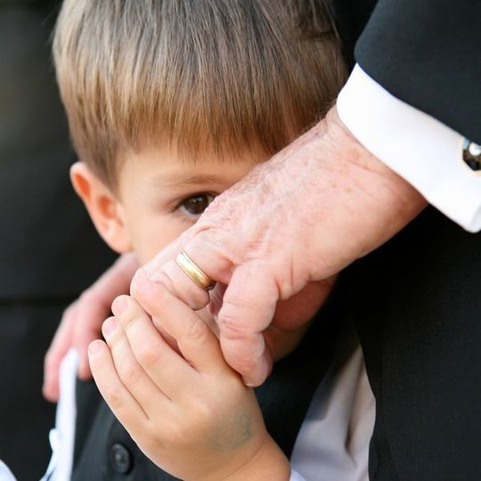 shy ring bearer