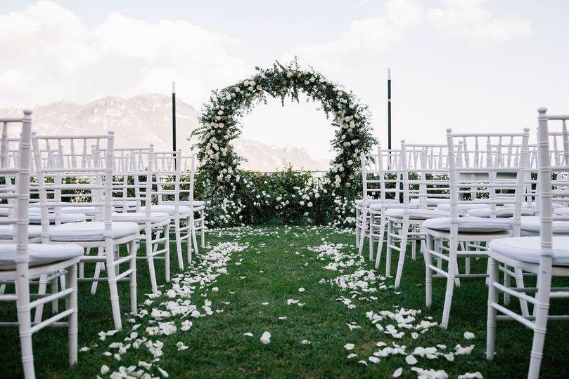 Symbolic wedding in Ravello