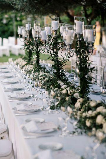Greenery wedding belmond carus