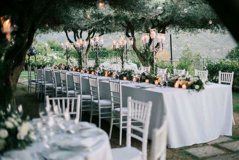 Greenery wedding in ravello