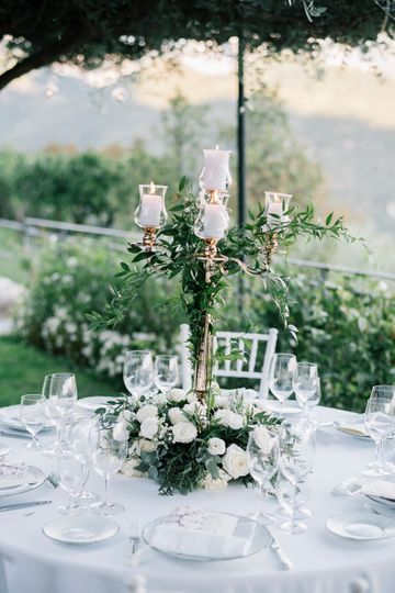 Ravello greenery wedding