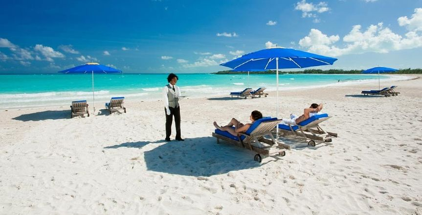 butler service  - the ultimate in luxury pampering at a Sandals resort