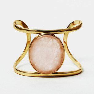 Tmx 1404238528733 Rose Quartz Wire Cuff Detroit wedding jewelry
