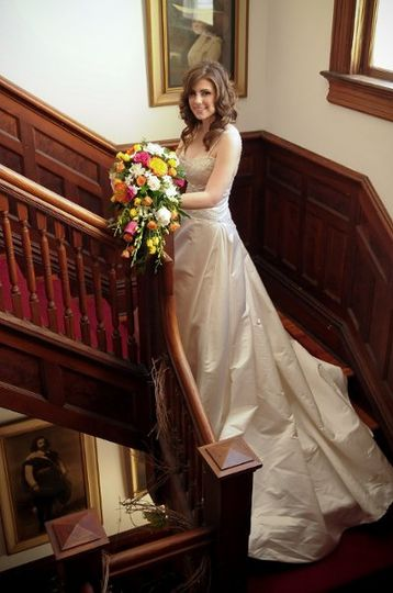 Beautiful Bride in the Home