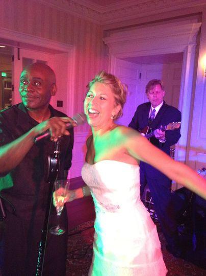 Bride and vocalist