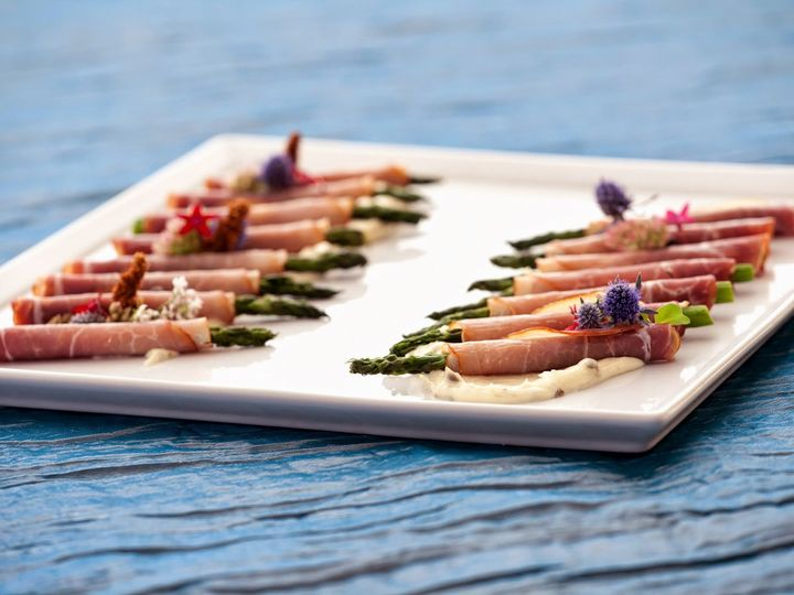 Tmx 1413913597640 6 Prosciutto Wrapped Asparagus Glendale, CA wedding catering