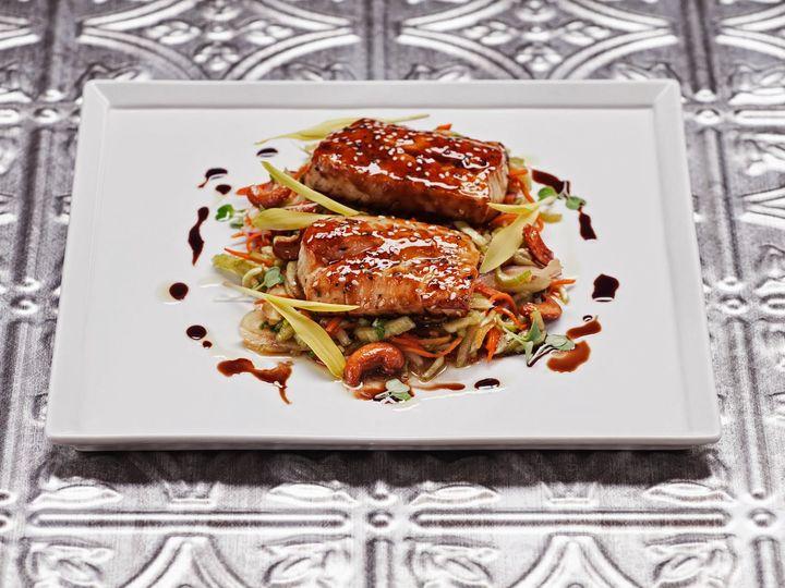 Tmx 1413913646270 13 Salmon With Seasonal Vegetables Glendale, CA wedding catering