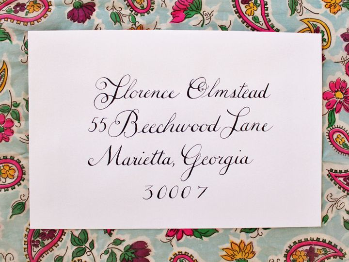 Tmx 1366293250845 Style Copperplate 1 Lancaster wedding invitation