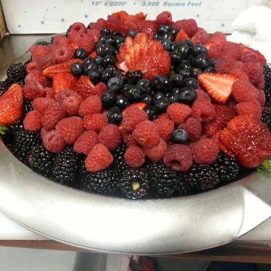 Berry Fruit display