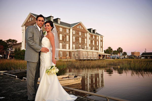 The Historic Rice Mill is the perfect backdrop for romantic weddings.