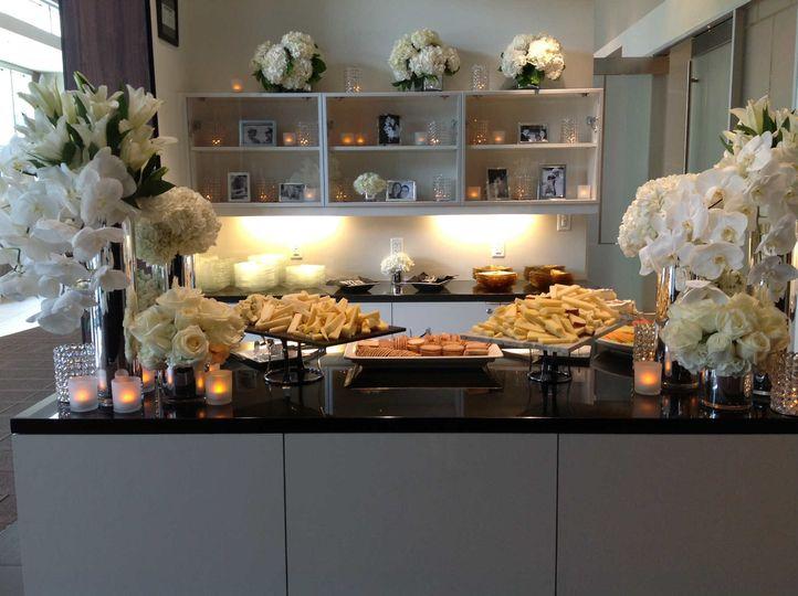 Wedding foods and beverages