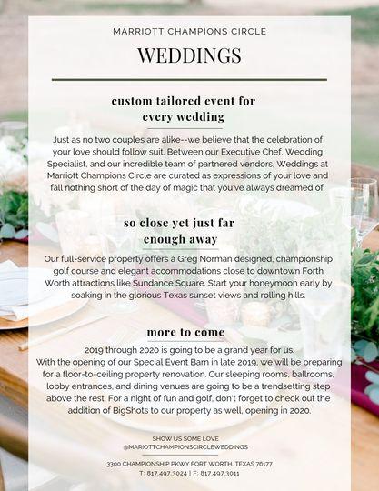 Custom-tailored Wedding Days