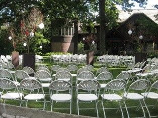 The front lawn of MacNider Art Museum is also an excellent spot for a ceremony!