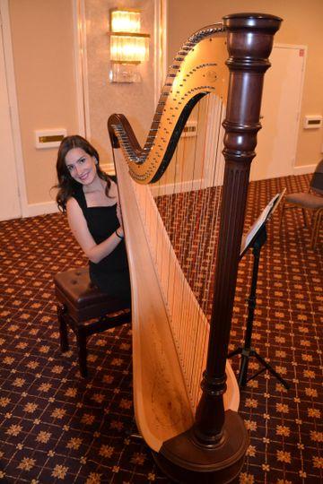 tampa wedding harpist