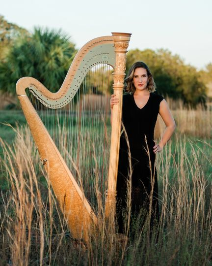 Award Winning Tampa Harpist