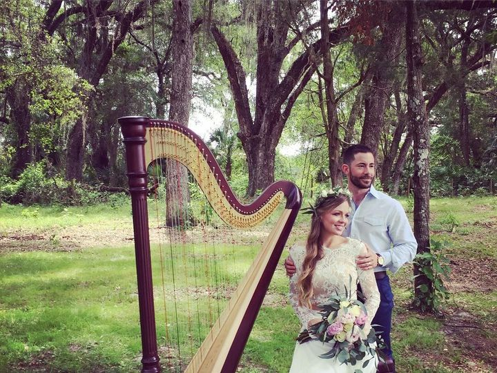Tmx 1462736362853 Weddingharpistintampaceremonymusic Tampa wedding ceremonymusic