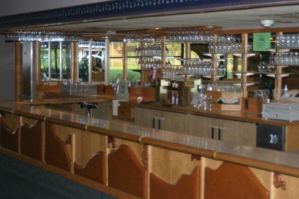 Open bar area
