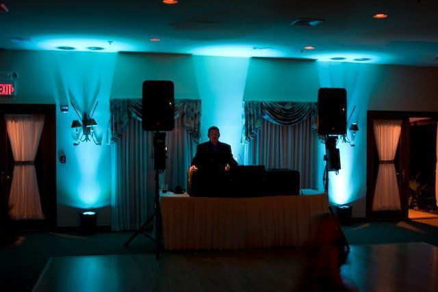 WeddingDJService.com LED uplighting