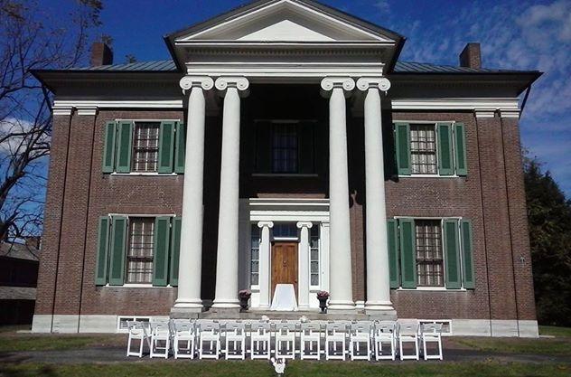 Waveland Wedding at mansion