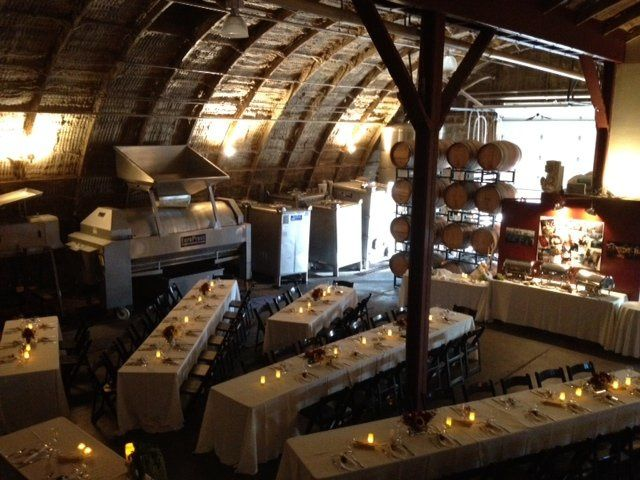 Italian themed Wedding Reception, 60 seated, catered by Via Maestra 42