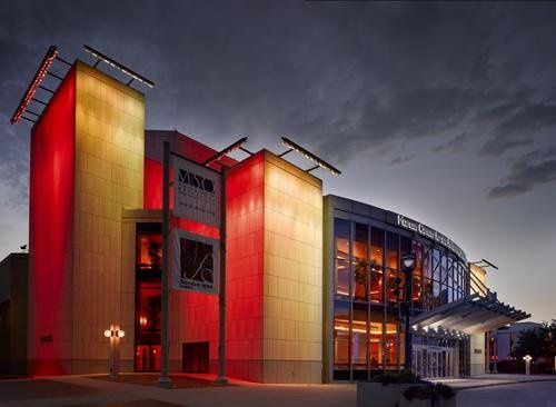 Exterior view of the Marcus center