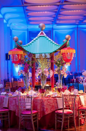 China inspired table set up