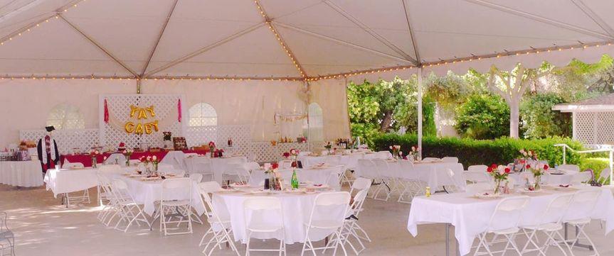 The grand ballroom reception