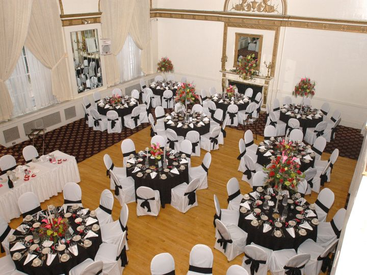 Tmx 1413490048390 Black And White Wedding From Above Williamsport, PA wedding venue