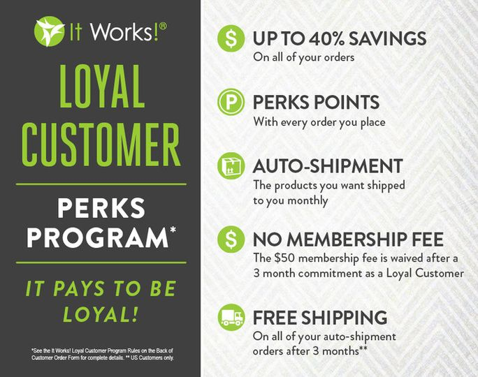 Lorilyn Smith It Works Independent Distributor Beauty Health