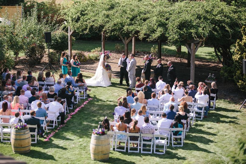 A beautiful day for Andy and Melissa to share with family and friends.