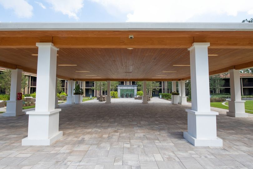 Pavilion area