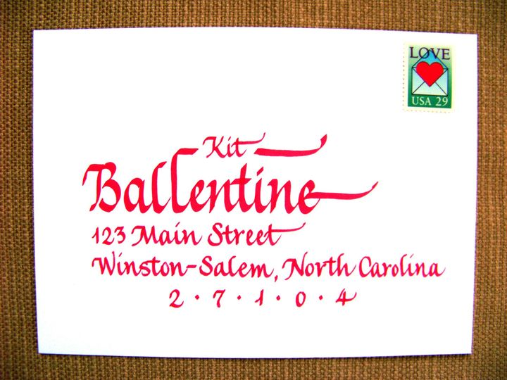 Tmx 1426354221378 Ballentine Winston Salem wedding invitation
