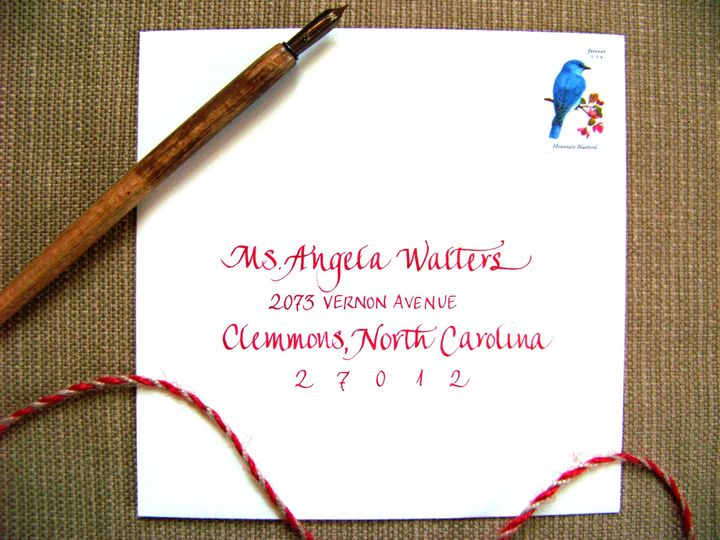 Tmx 1426354506184 Mixed Font Walters 2 Winston Salem wedding invitation