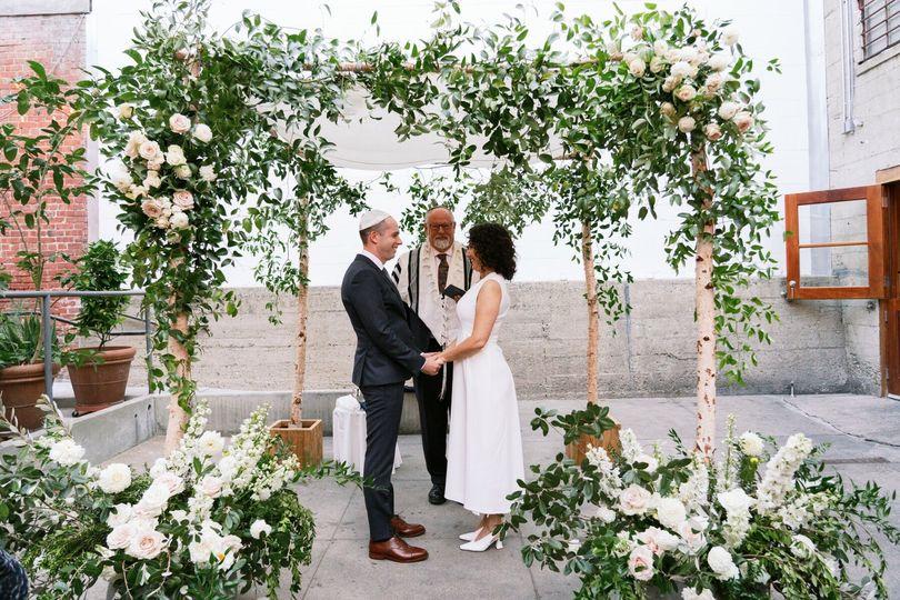 Foreign Cinema Jewish Wedding