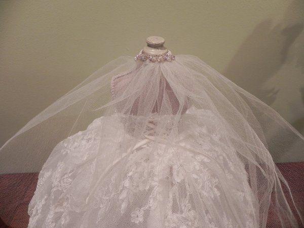Bridal Doll Back View