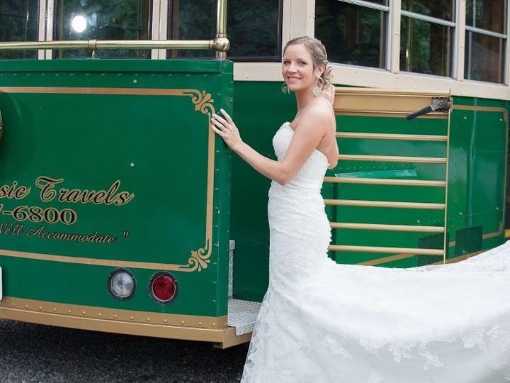 Tmx 1415193166225 Photo   Trolley.bride1 Richmond, Virginia wedding transportation