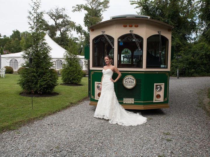 Tmx 1415193169050 Photo   Trolley.bride3 Richmond, Virginia wedding transportation