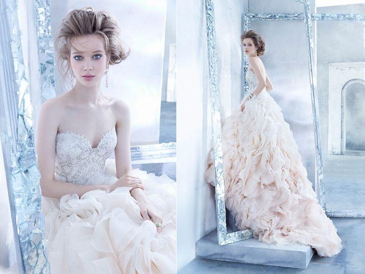 Tmx 1428945544001 Lazaro Ombre Winter Park wedding dress