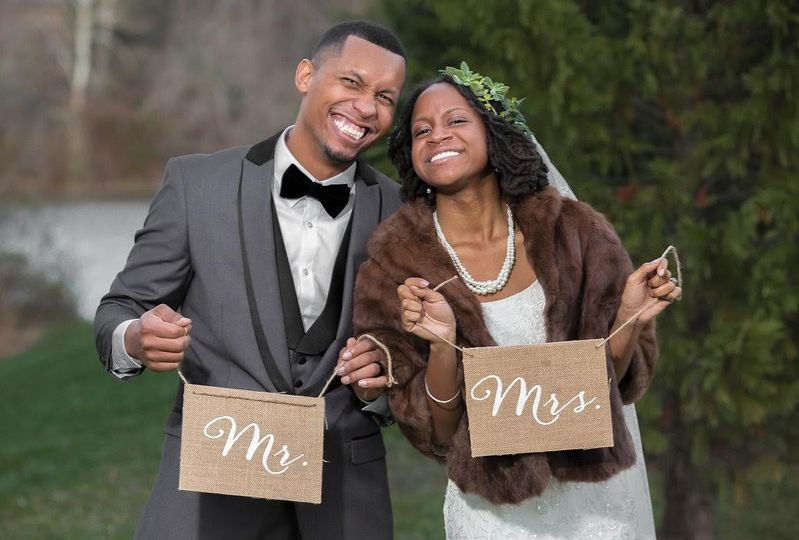 Mr. and Mrs. message