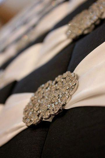 Black and white Couture invite