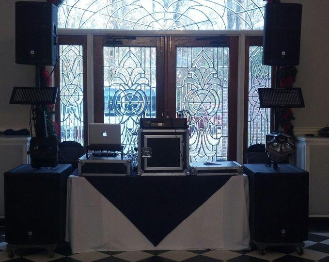 Speaker set-up