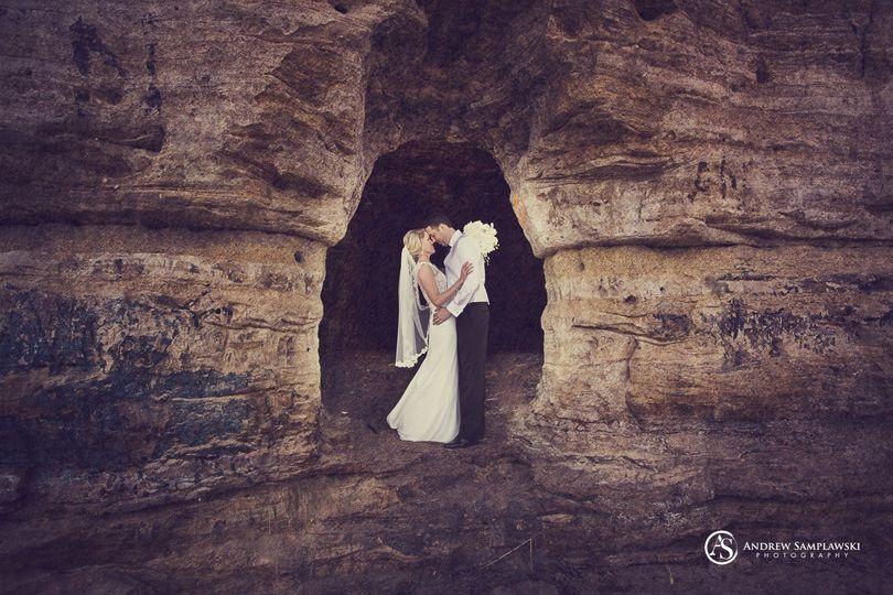 Hidden hole in the limestone near Stillwater